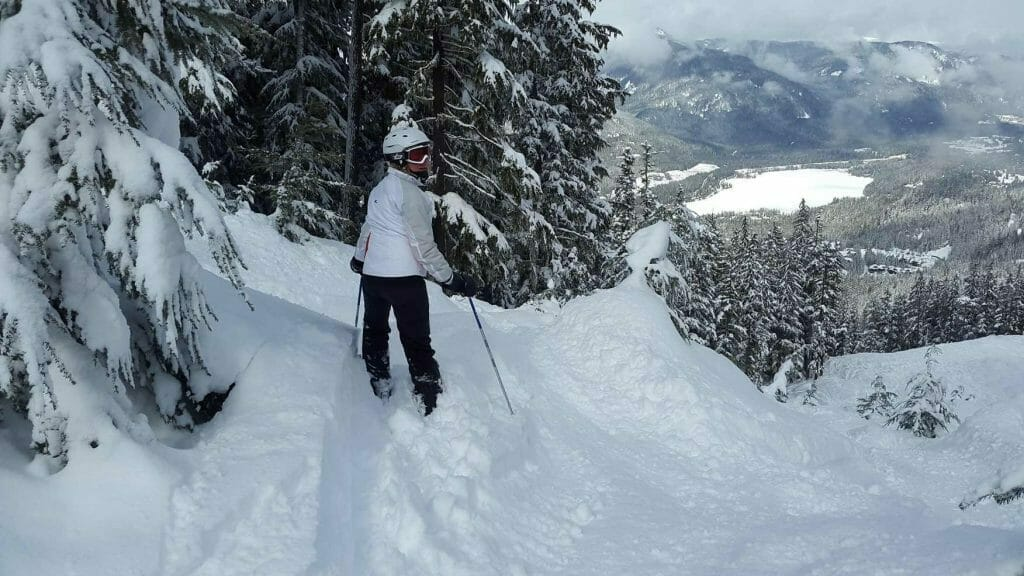 Whistler, lots of great snow and another place for great RV skiing