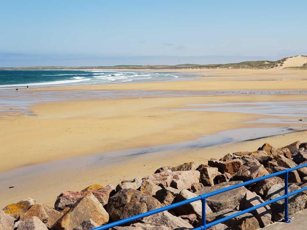 The beach at Fraserburgh
