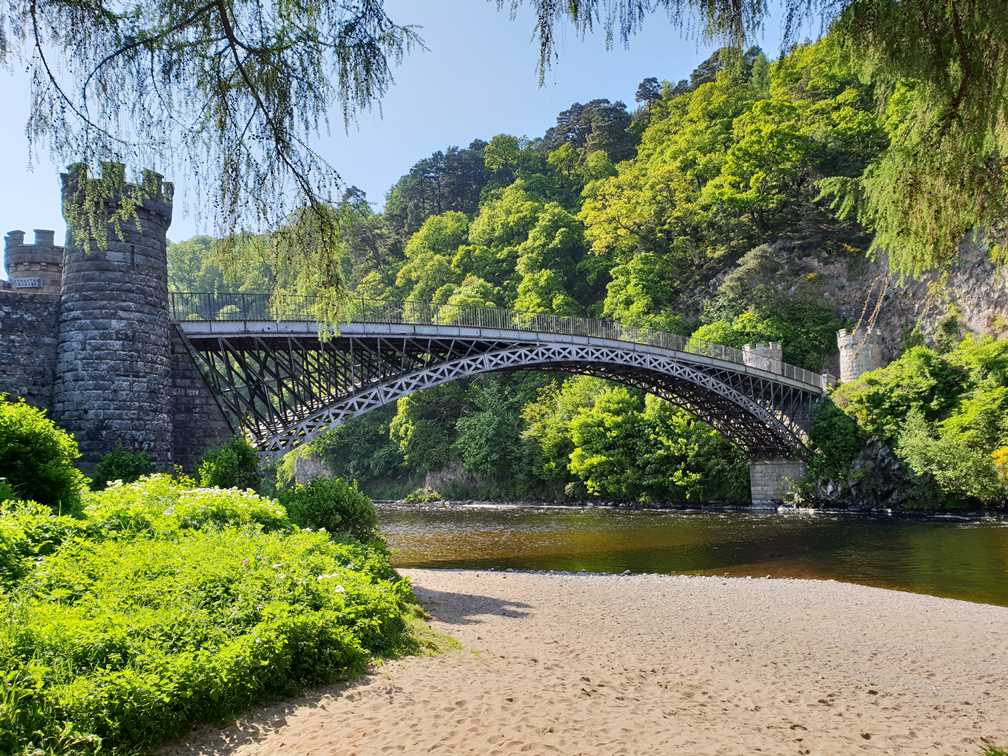 An elegant bridge in Speyside