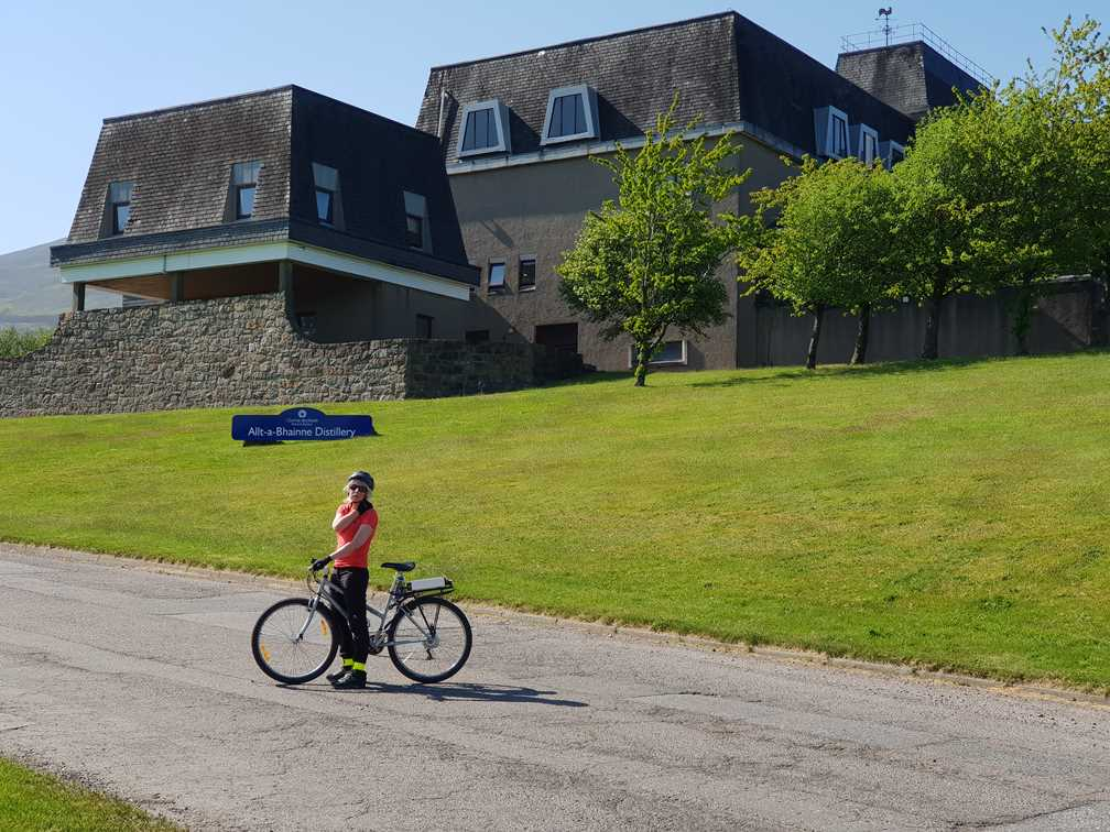 Another whisky distillery on the Whisky Trail