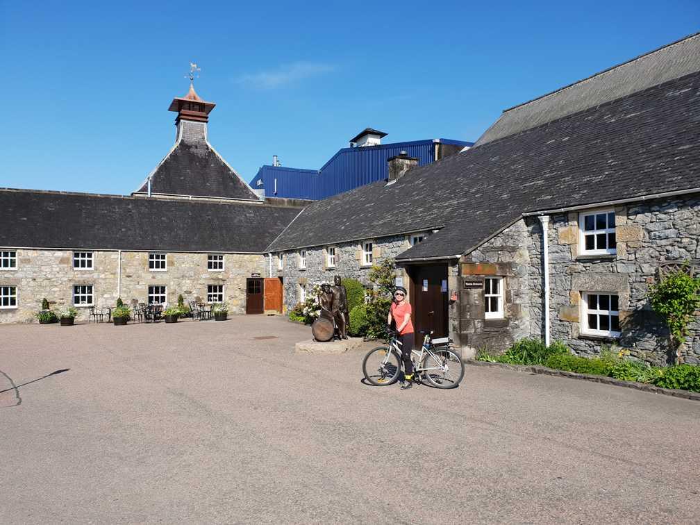 The Glenfiddich Distillery