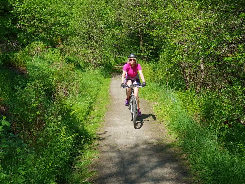 Cycling along the Speyside Way