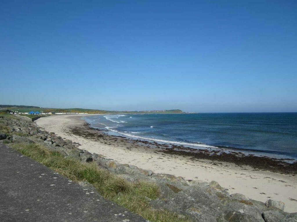 Beautiful coastline on our Scotland road trip