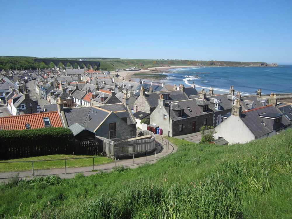 A pretty Scottish coastal town