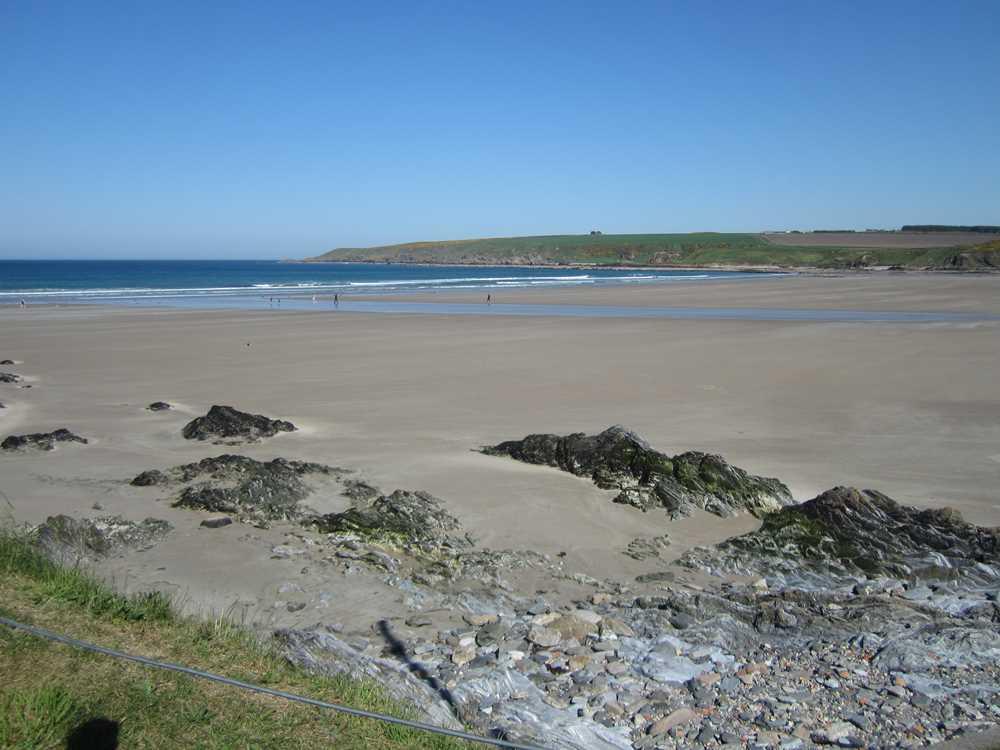 Beach at Sandend Bay