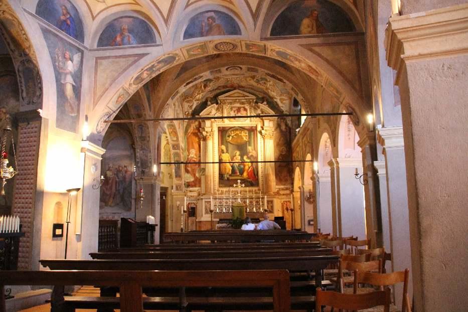 Inside the monastery