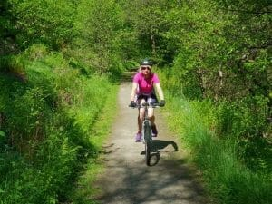 Cycling the Speyside Way on and electric bike