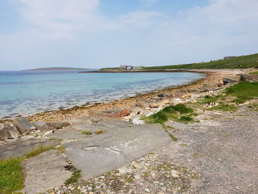 Beautiful beaches on Orkney