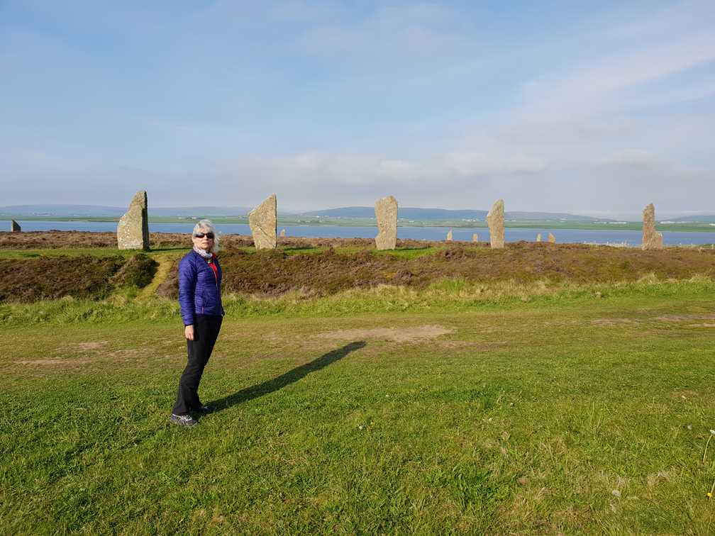Me standing outside the Ring of Brodgar