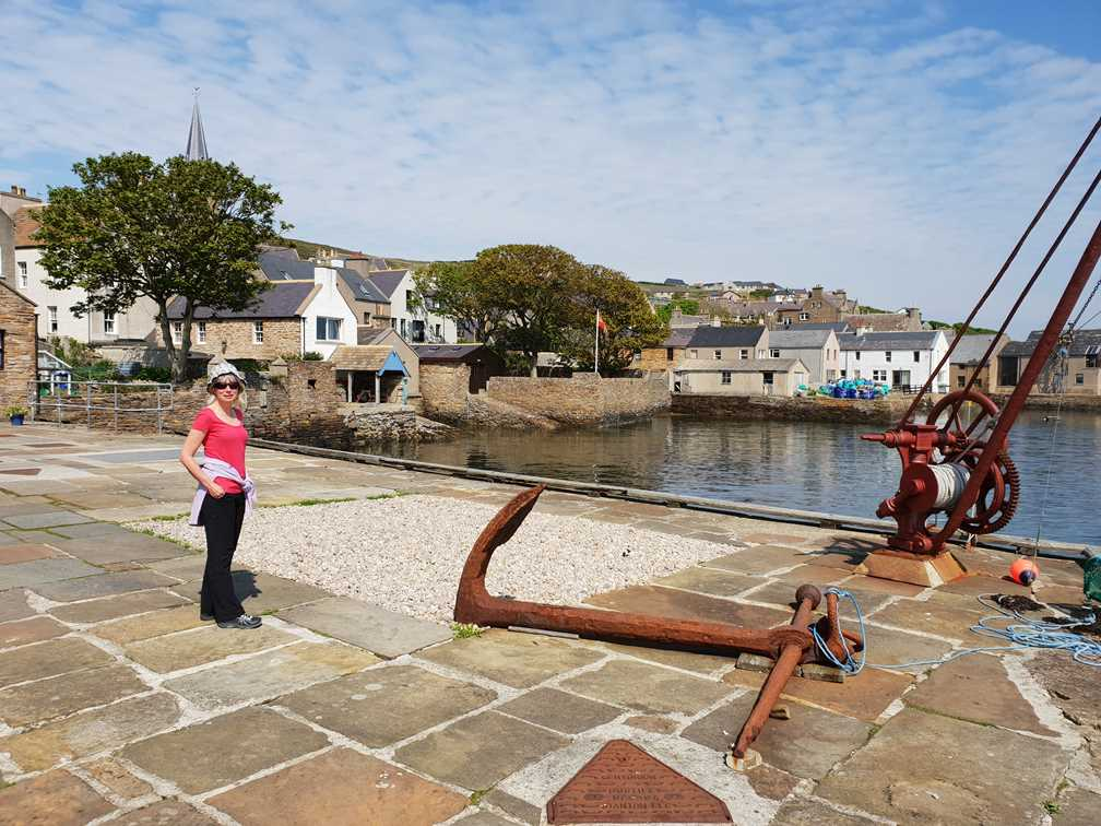 The harbour at Stromness, Orkney