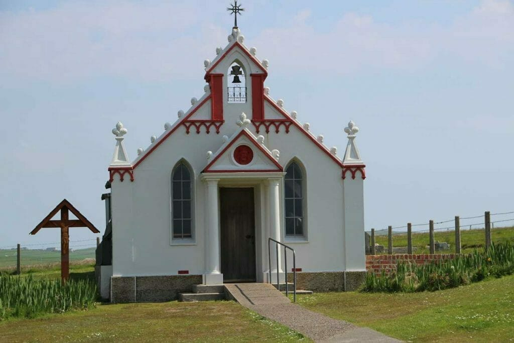 Visit Orkney to see the Italian Chapel