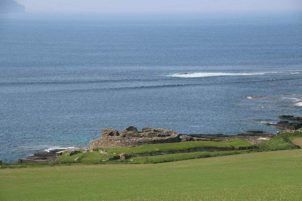 Midhowe Broch on Rousay