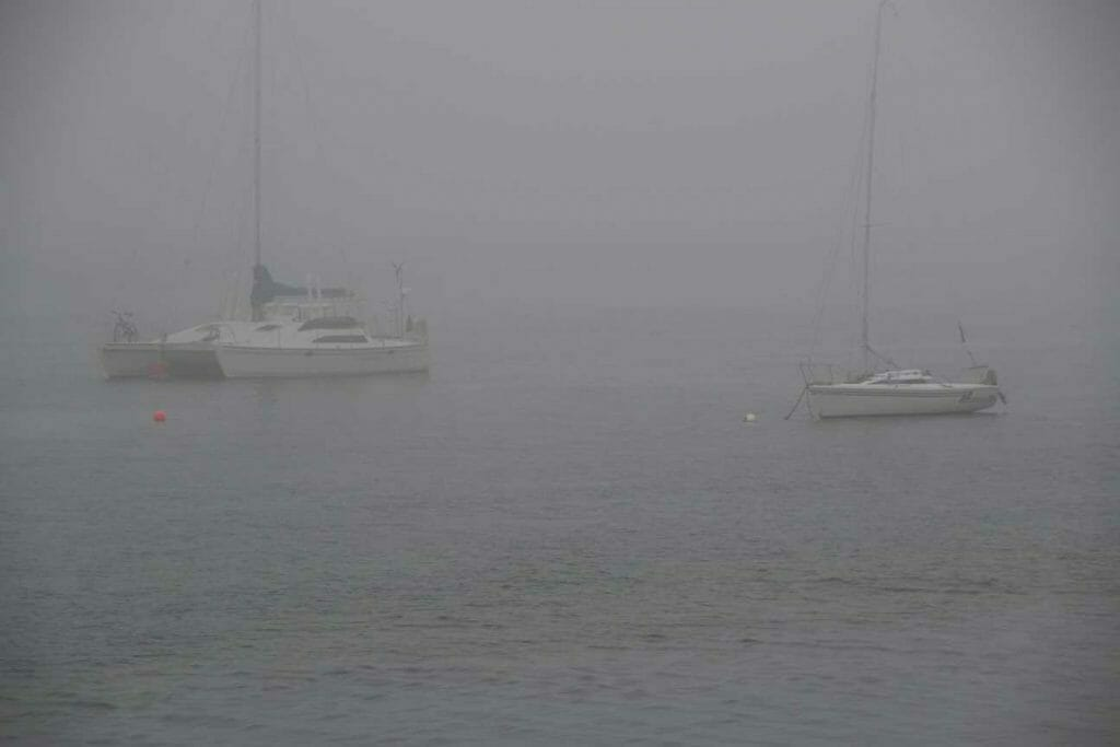 Fog on Rousay