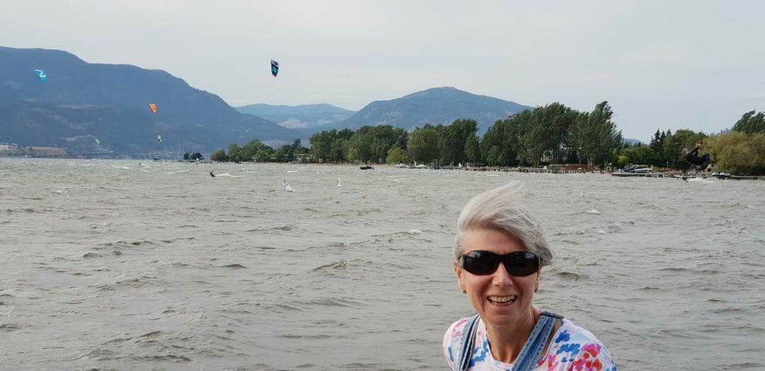 kitesurfing in Kelowna