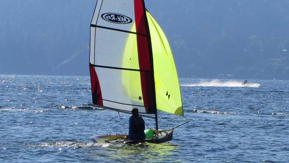Sailing in Kelowna