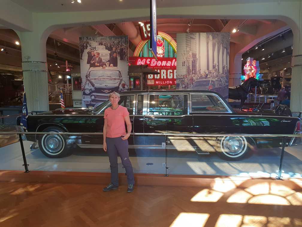 John F Kennedy's car