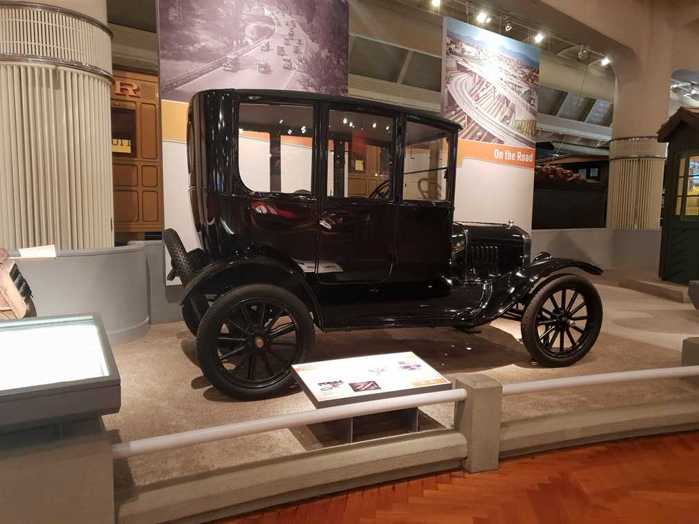 Model T in the Henry Ford Museum of American Innovation