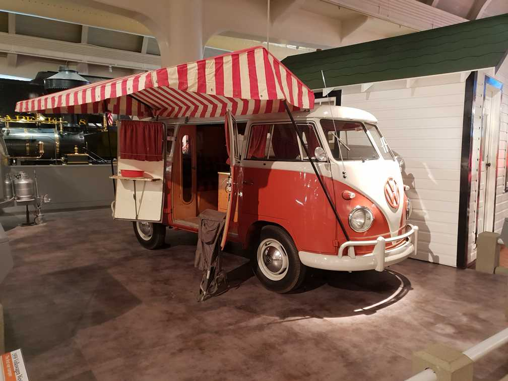 Classic VW camper van in the Henry Ford