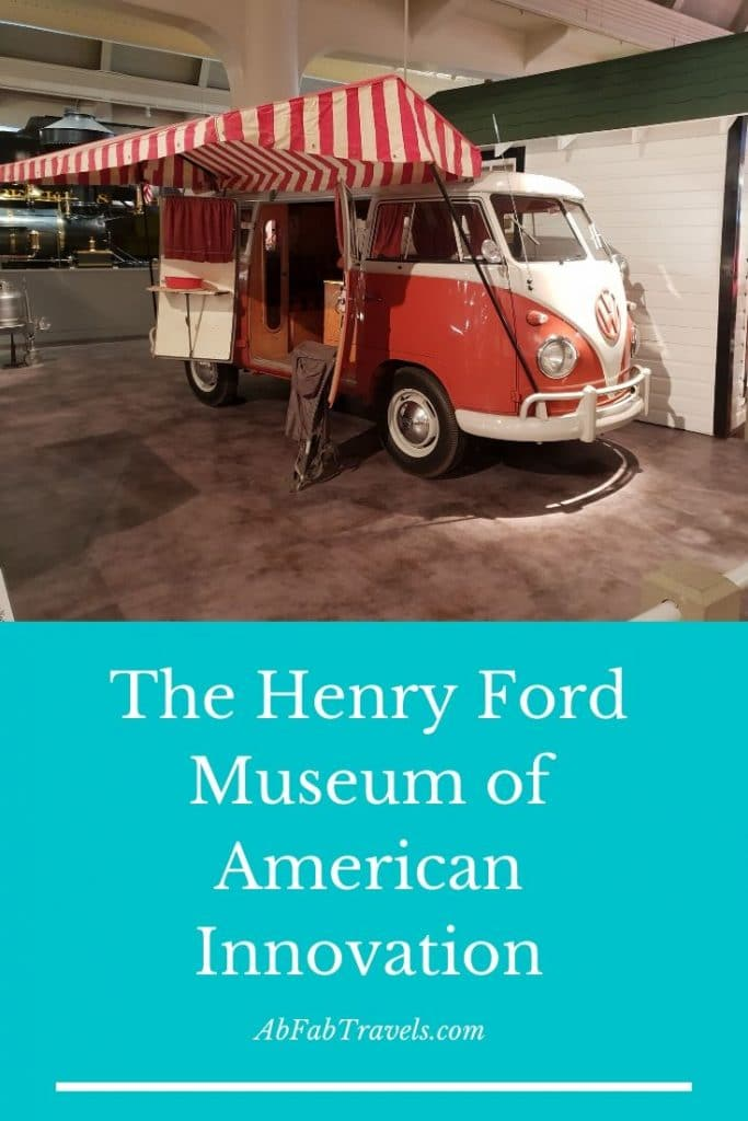 Pin for The Henry Ford Museum of American Innovation