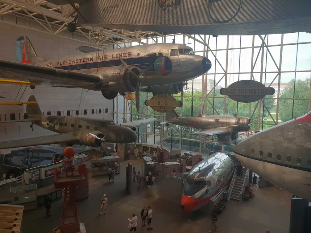 Aeroplanes in the National Air and Space Museum
