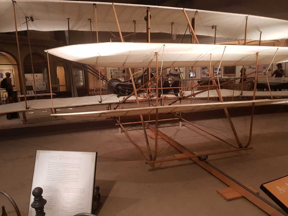 The Wright Flyer in the National Air and Space Museum