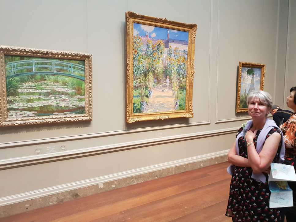 Impressionist paintings in the National Gallery