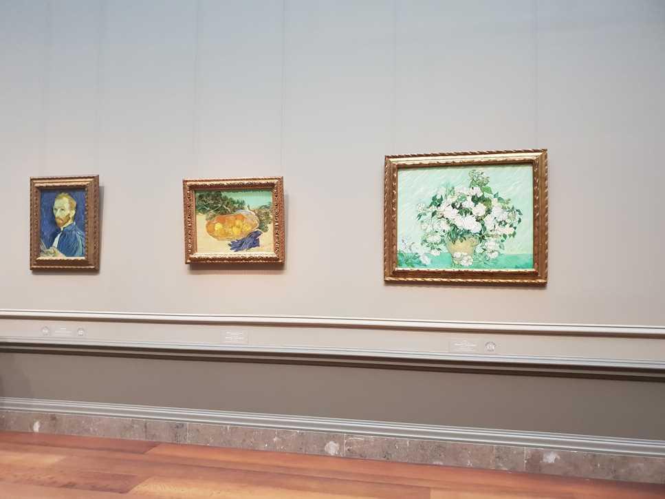 Van Gogh paintings in the National Gallery