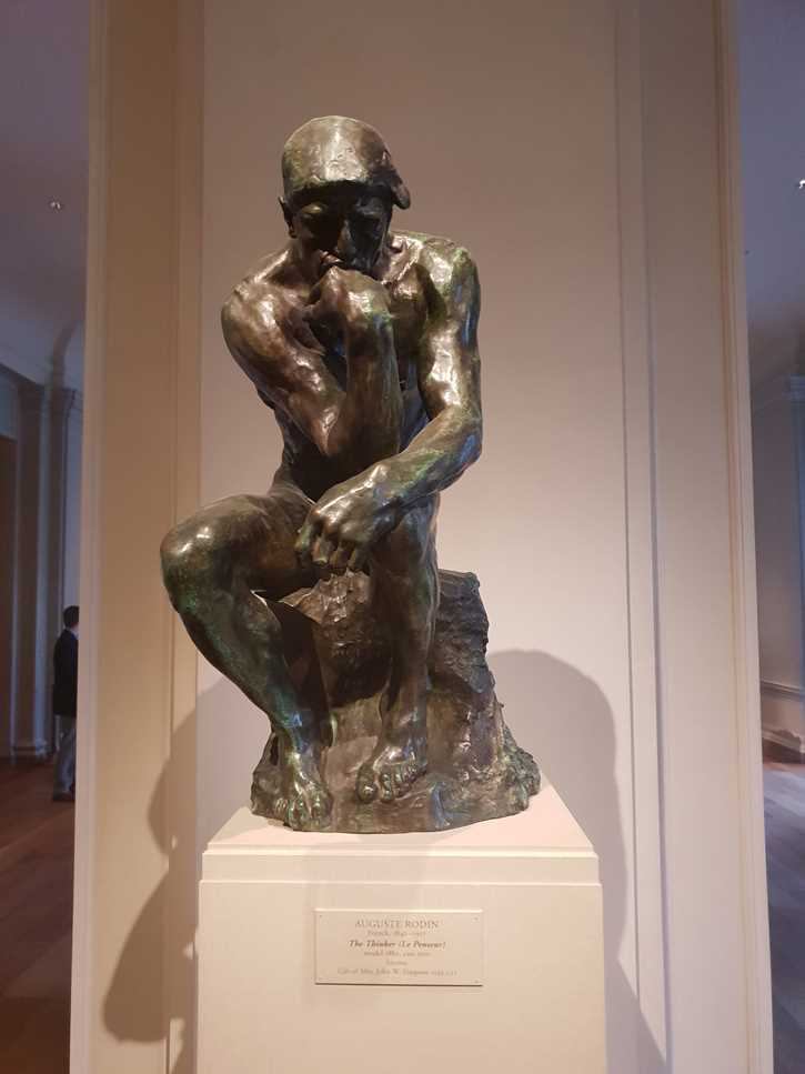 Sculpture: The Thinker by Rodin