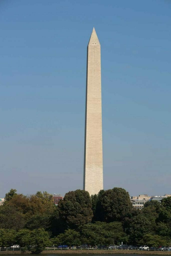 A view of the Washington Monumment, a must see on a first time in Washington DC