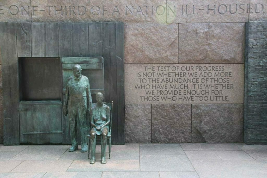Another sculpture from the FD Roosevelt Memorial