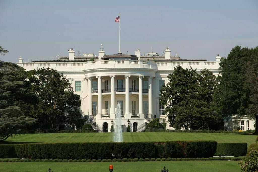 The White House, south side