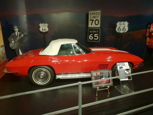 Roy Orbison owned several corvettes