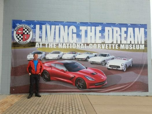 Living the Dream banner outside the NCM