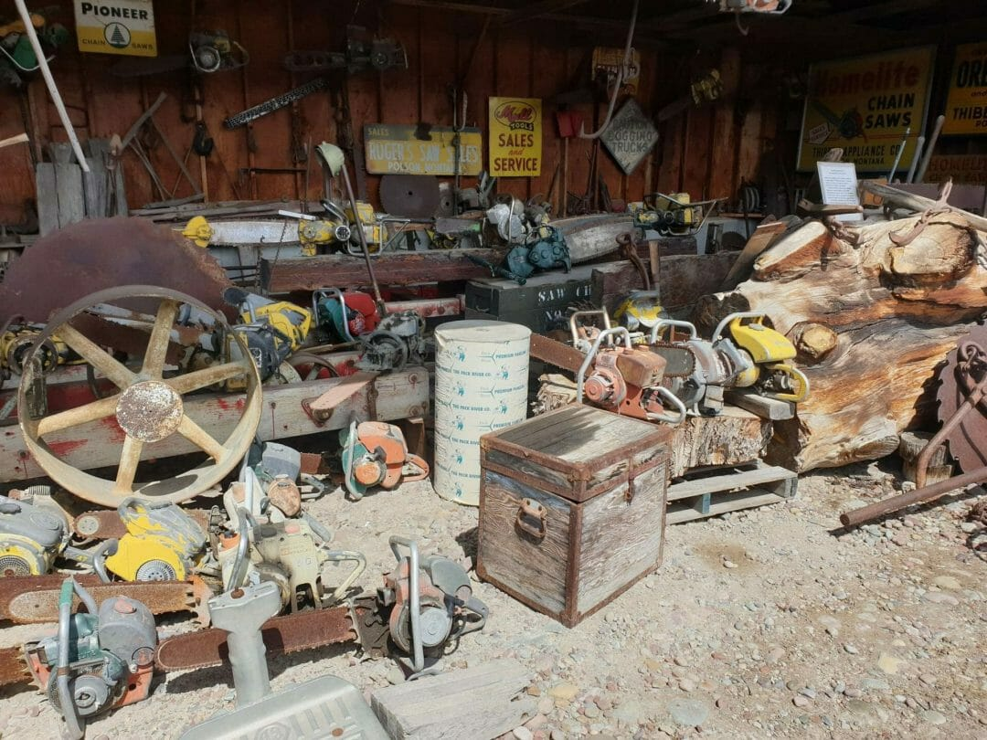 Chain saws and forestry equipment