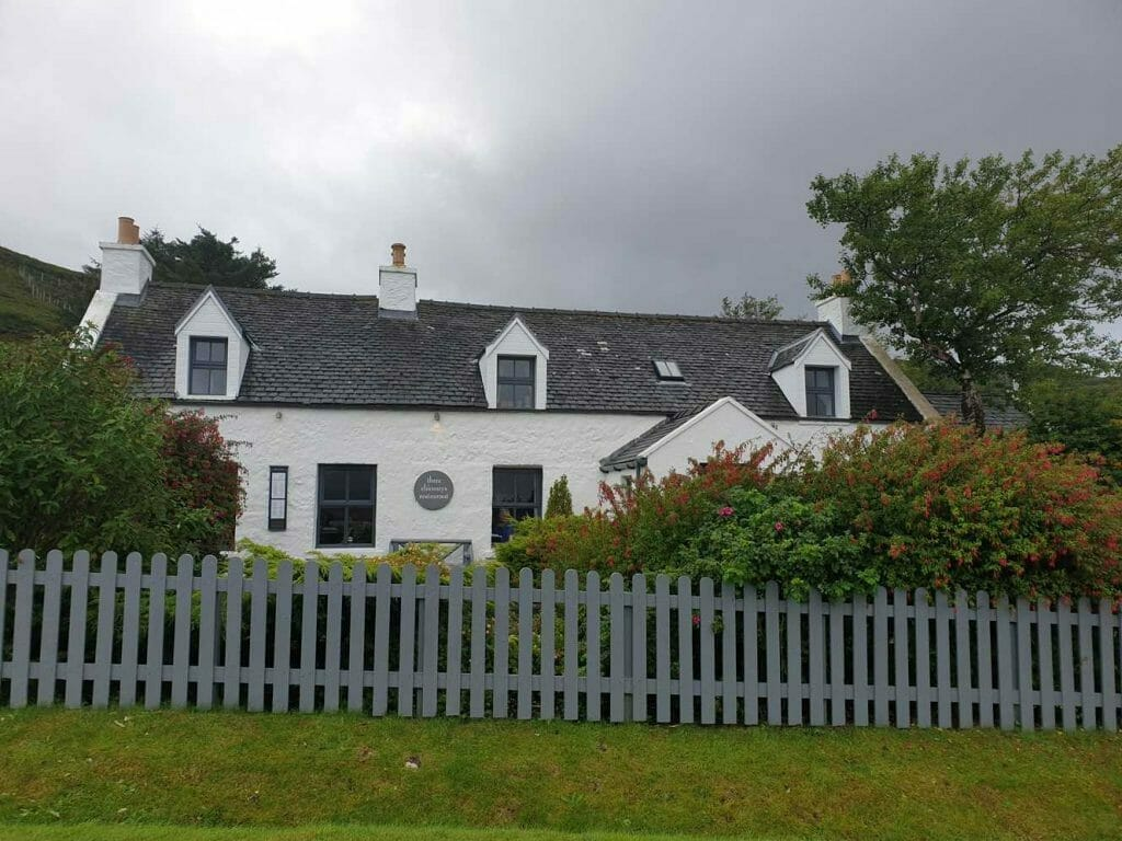 The What to do on Skye? Eat here at The Three Chimneys Restaurant