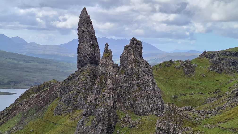 The Old Man of Storr, what to see on the Isle of Skye