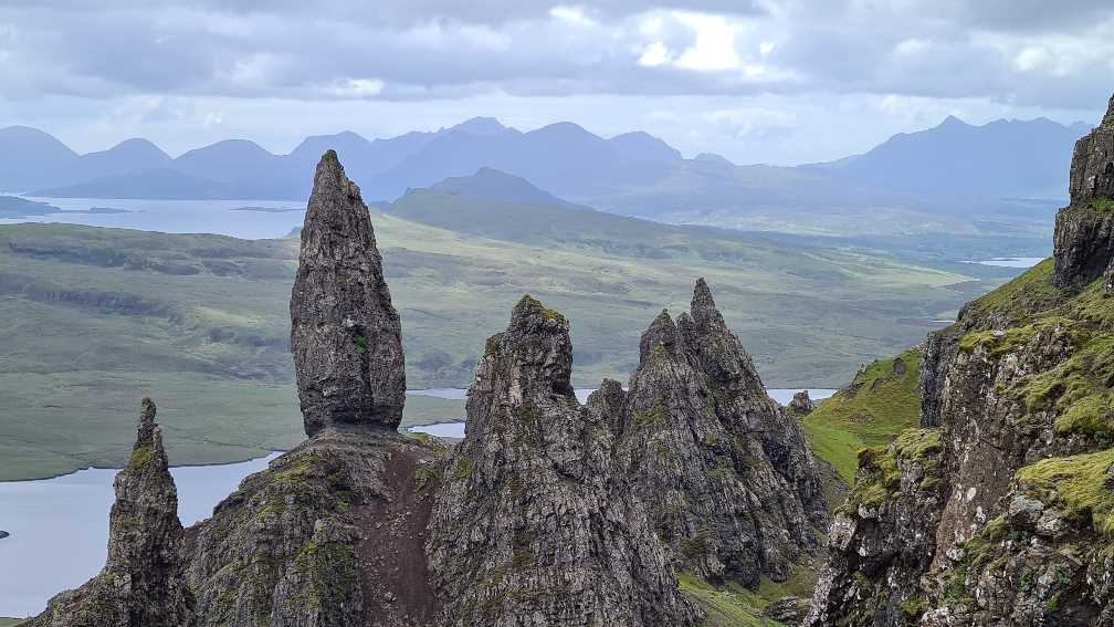 What to see on the Isle of Skye: the Old Man of Storr