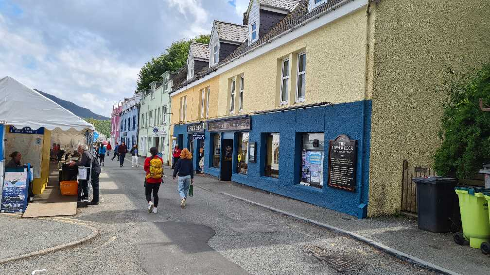 Portree near the harbour