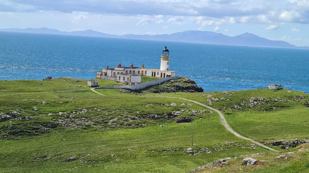 The lighthouse at Neist Point on the Isle of Skye
