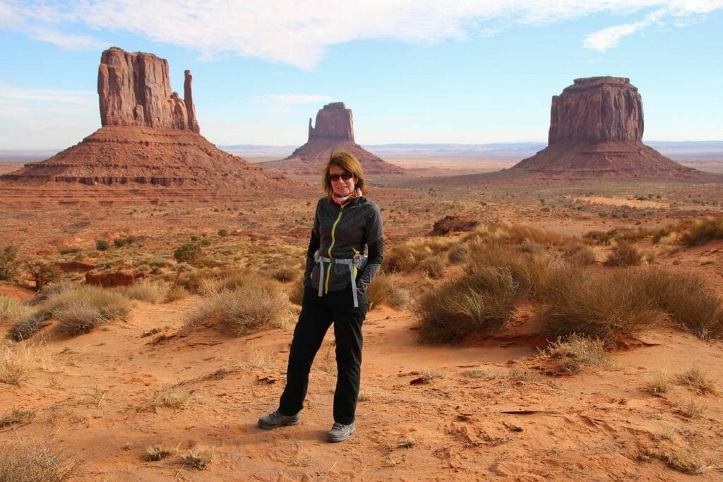 Me in monument valley