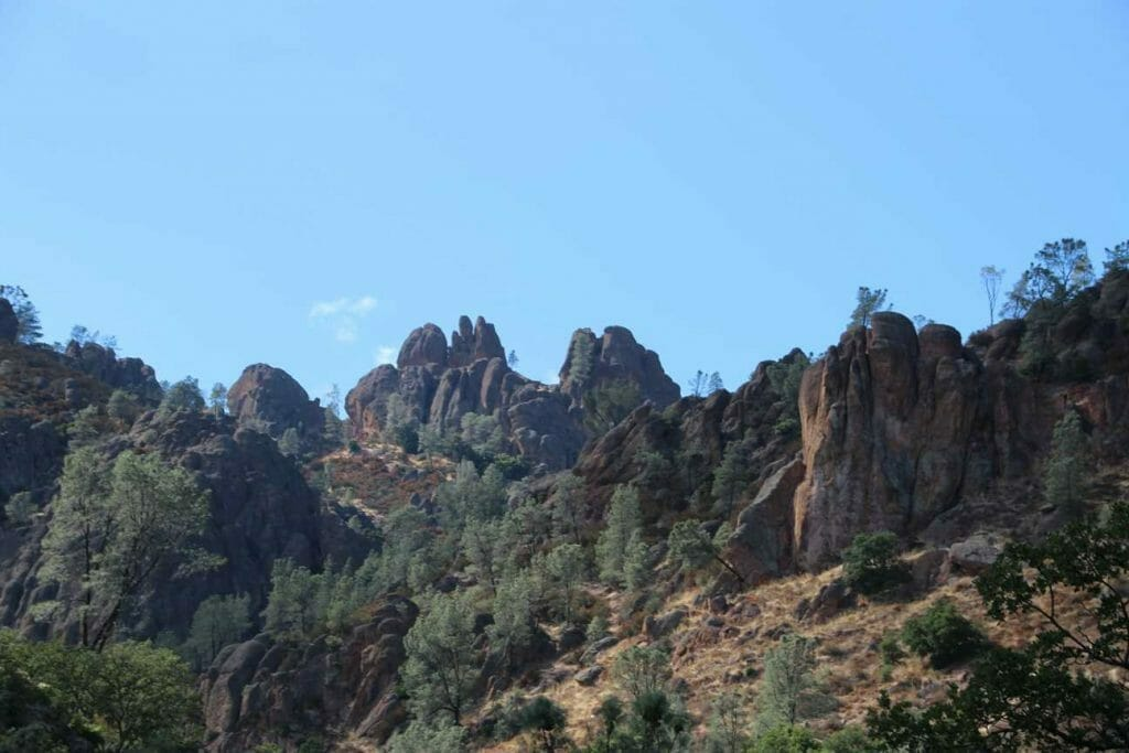 The view of the Pinnacles