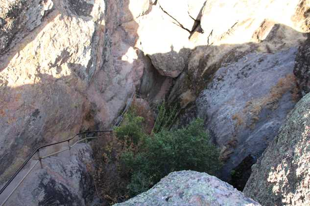 Into the caves in Pinnacles NP