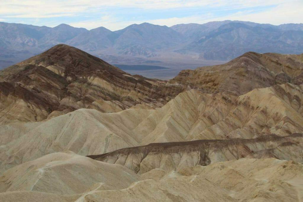 Exploring the Badlands in Death Valley