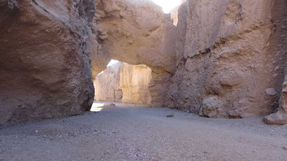 Natural Bridge in Death Valley