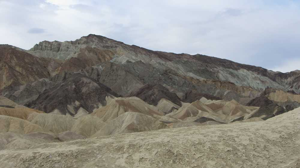Artist's Drive whilst exploring Death Valley