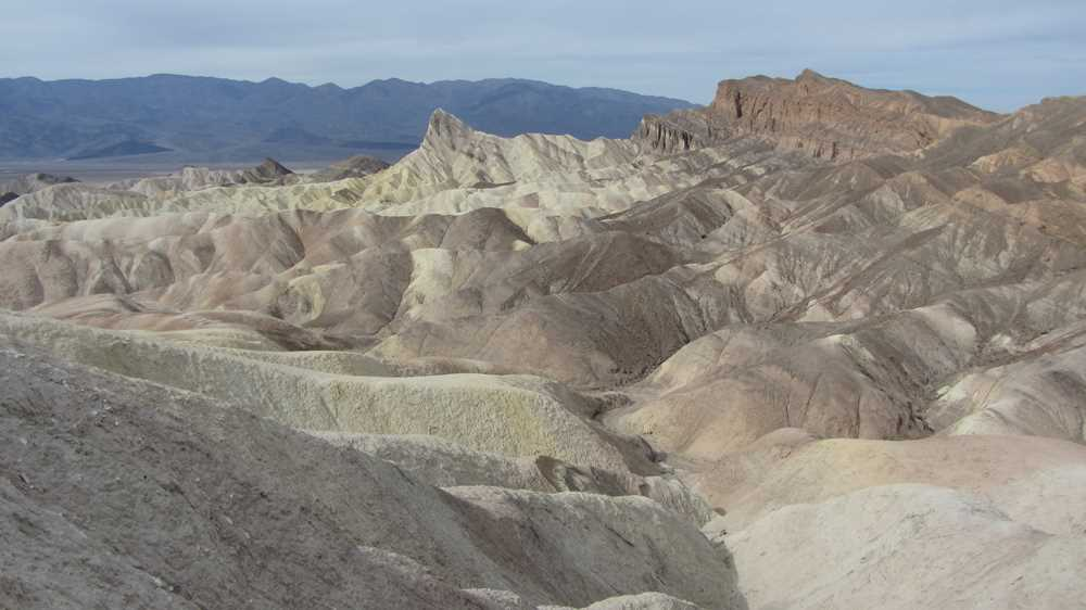 The Badlands at Dante's View