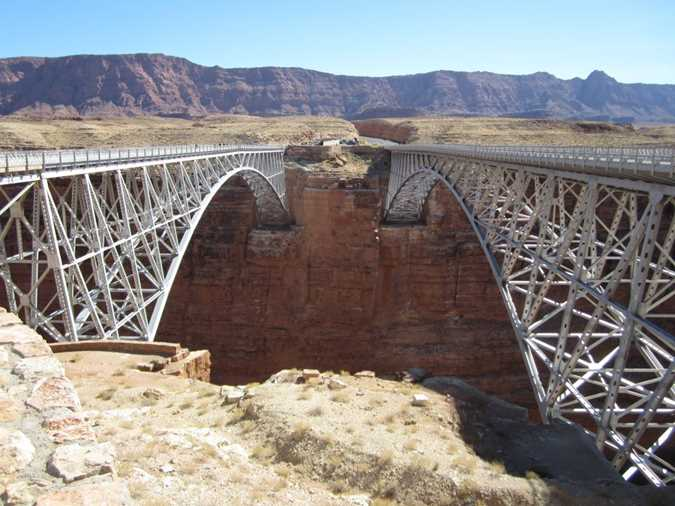 Navajo Bridge, what to see in Page