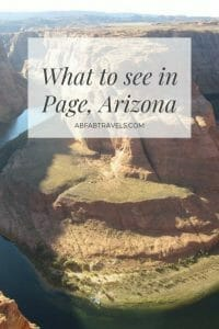Pin for What to see in Page, AZ post