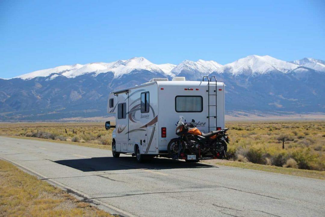 Living the best life in a camper van