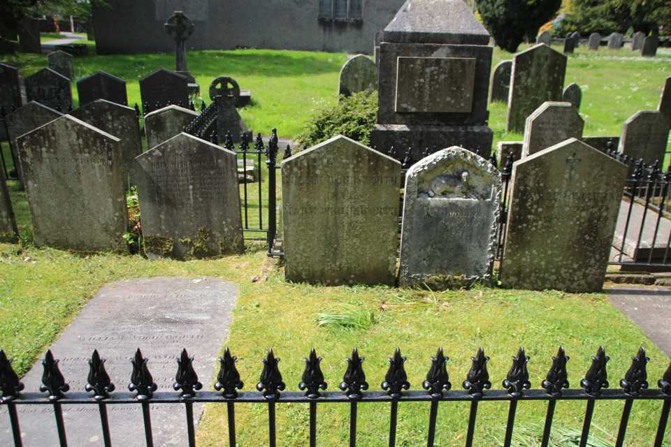 The Wordsworth Graves in Grasmere